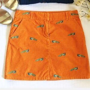 Jcrew   corduroy peacock skirt • 2